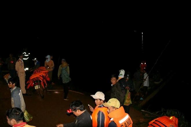 Vụ chìm thuyền ở Đak Nông: Tìm thấy cả 3 thi thể nạn nhân 1