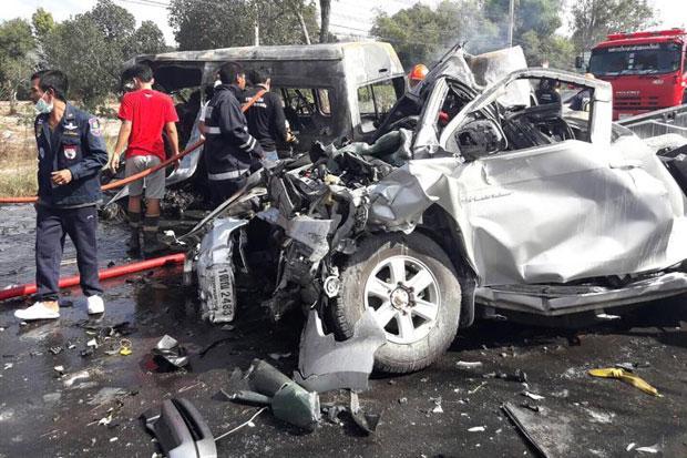 Thái Lan: Tai nạn giao thông thảm khốc, 25 người thiệt mạng 2
