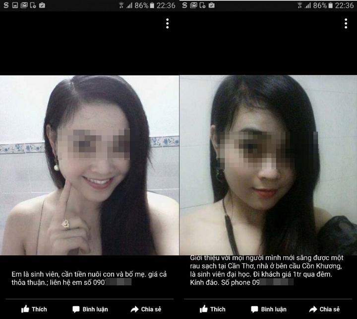 Nữ sinh miền Tây bị lấy hình ảnh để rao bán dâm trên mạng 1