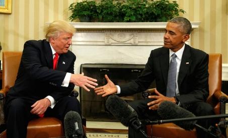 Obama kêu gọi quân đội phục tùng tốt cho Trump 1