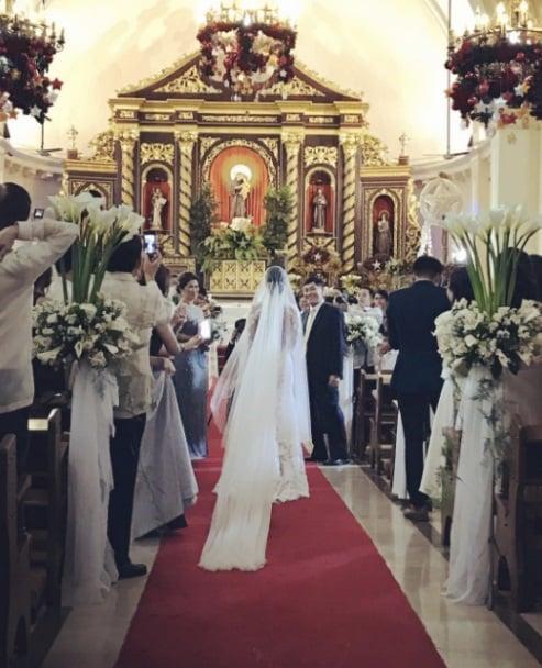 Cận cảnh đám cưới xa hoa của chị chồng Tăng Thanh Hà 1