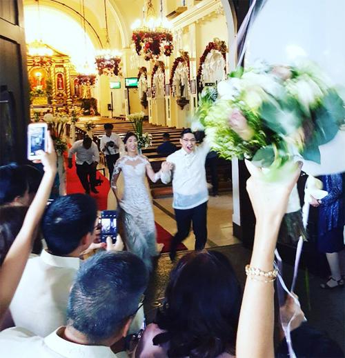 Cận cảnh đám cưới xa hoa của chị chồng Tăng Thanh Hà 5