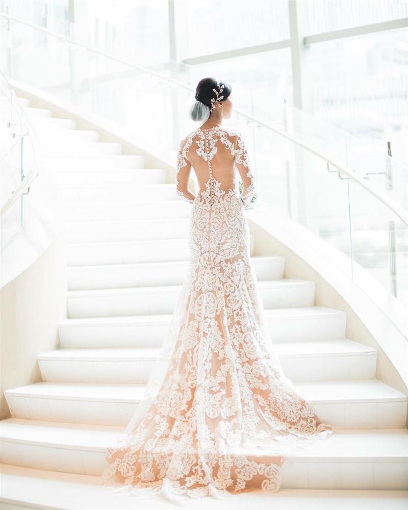 Cận cảnh đám cưới xa hoa của chị chồng Tăng Thanh Hà 7