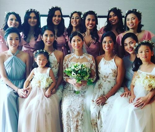Cận cảnh đám cưới xa hoa của chị chồng Tăng Thanh Hà 6