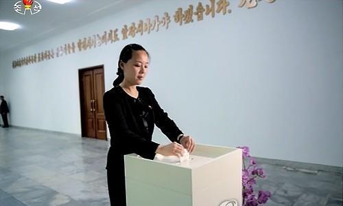 Em gái Kim Jong-un bị Mỹ đưa vào danh sách trừng phạt 1