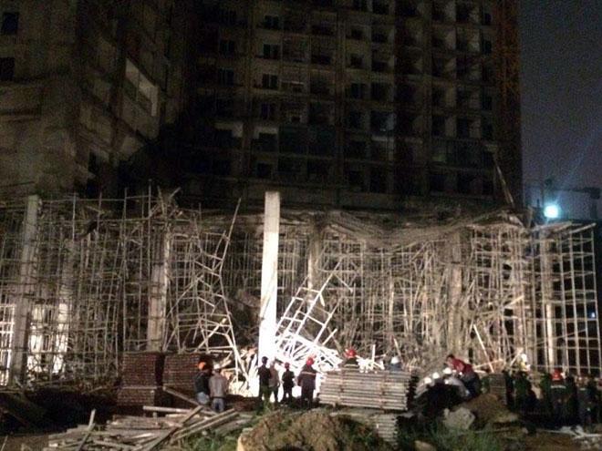 Nguyên nhân vụ sập giàn giáo tòa nhà 32 tầng ở Đà Nẵng 1