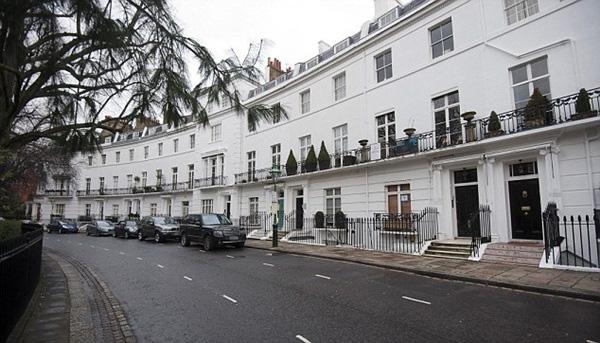 Hình ảnh Nhà nằm trên phố đắt nhất London bị đẩy giá lên gần 21 triệu USD số 1