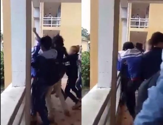 Giáo dục - Nam sinh lớp 8 bị đánh hội đồng: Đuổi học 1 tuần 4 học sinh