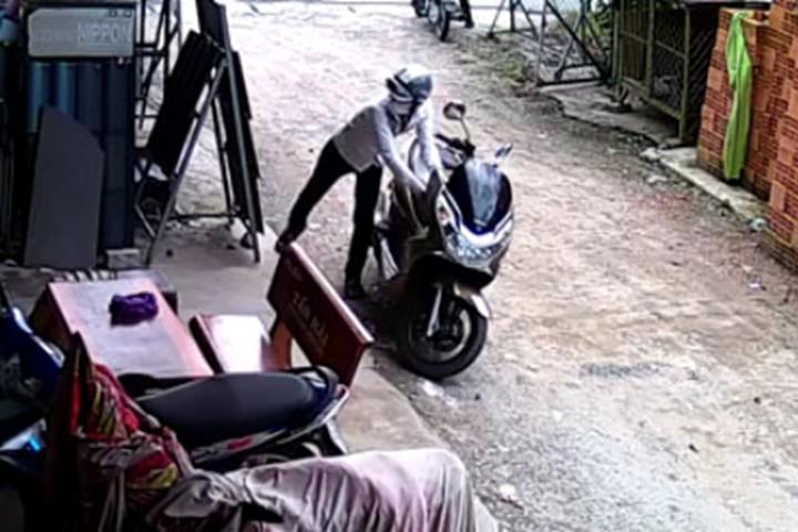 Ngày Tết, làm thế nào để chống trộm xe máy? 1