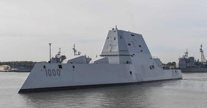 Mỹ cân nhắc dùng khu trục hạm tàng hình răn đe Triều Tiên 1