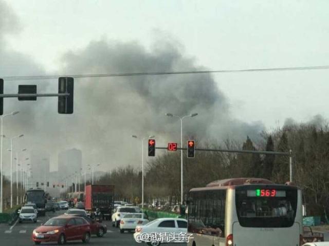 Hình ảnh Cháy lớn tại nhà máy cung cấp pin cho Samsung ở Trung Quốc số 2