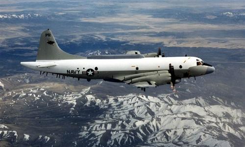 Hình ảnh Máy bay Mỹ - Trung Quốc áp sát nhau ở Biển Đông số 1