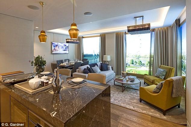 """Hình ảnh Chiêm ngưỡng penthouse hơn 560 tỷ nằm ở """"đất vàng"""" London số 1"""