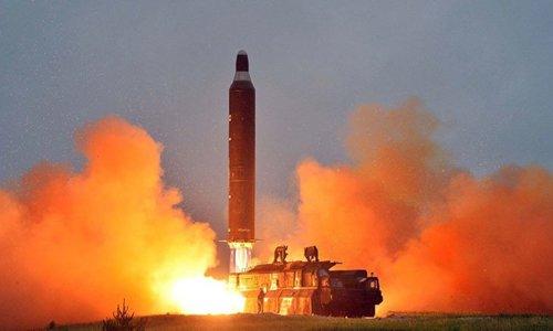 Trump tuyên bố sẽ đáp trả mạnh tay với Triều Tiên 1