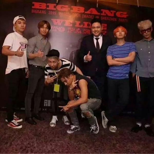 Lộ ảnh được cho là BigBang vui đùa cùng các vũ nữ trong hộp đêm 2