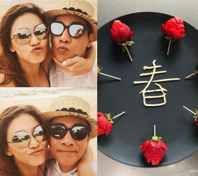 Hình ảnh Những kiểu đón lễ Valentine của sao Hoa ngữ số 4