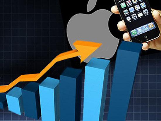 Hình ảnh Nhu cầu iPhone tăng mạnh đẩy cổ phiếu Apple đạt giá kỷ lục số 1