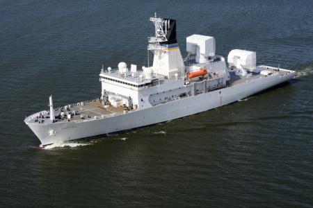 Mỹ điều tàu chiến tối tân tới giám sát Triều Tiên 1