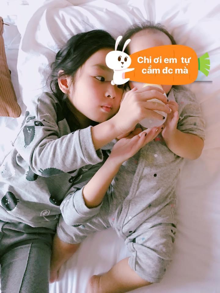 Lộ hình ảnh con gái thứ 2 nhà Lưu Hương Giang - Hồ Hoài Anh 4