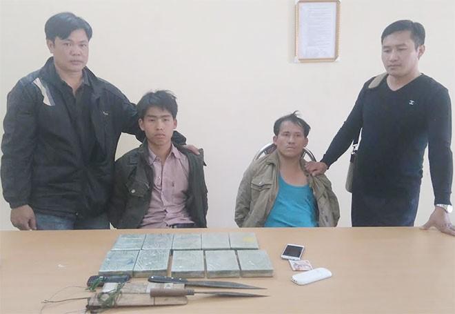 Ôm 3,5kg heroin, 2 đối tượng người Lào điên cuồng chống trả cảnh sát 1