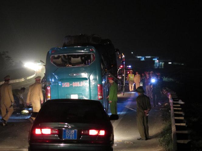 Vụ nổ xe khách, 2 chết tại Bắc Ninh: Công an xác định nguyên nhân 1