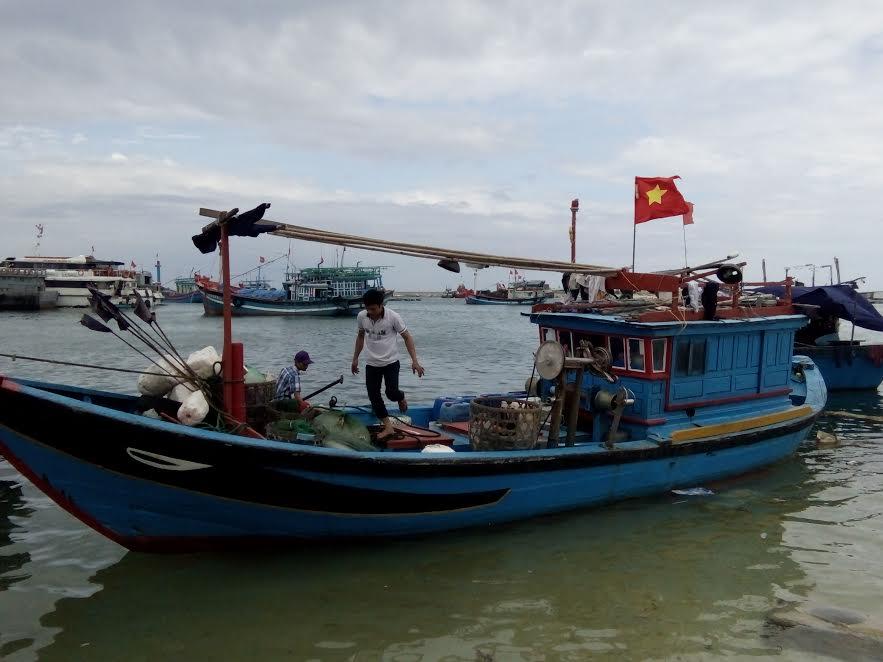 Tàu cá va chạm xuồng tuần tra, trung úy đồn biên phòng tử nạn 1