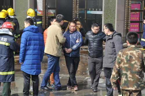 Trung Quốc: Khách sạn cháy lớn, 10 người thiệt mạng 2