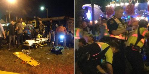 Mỹ: xe tải lao vào đám đông khiến hàng chục người bị thương nặng 1