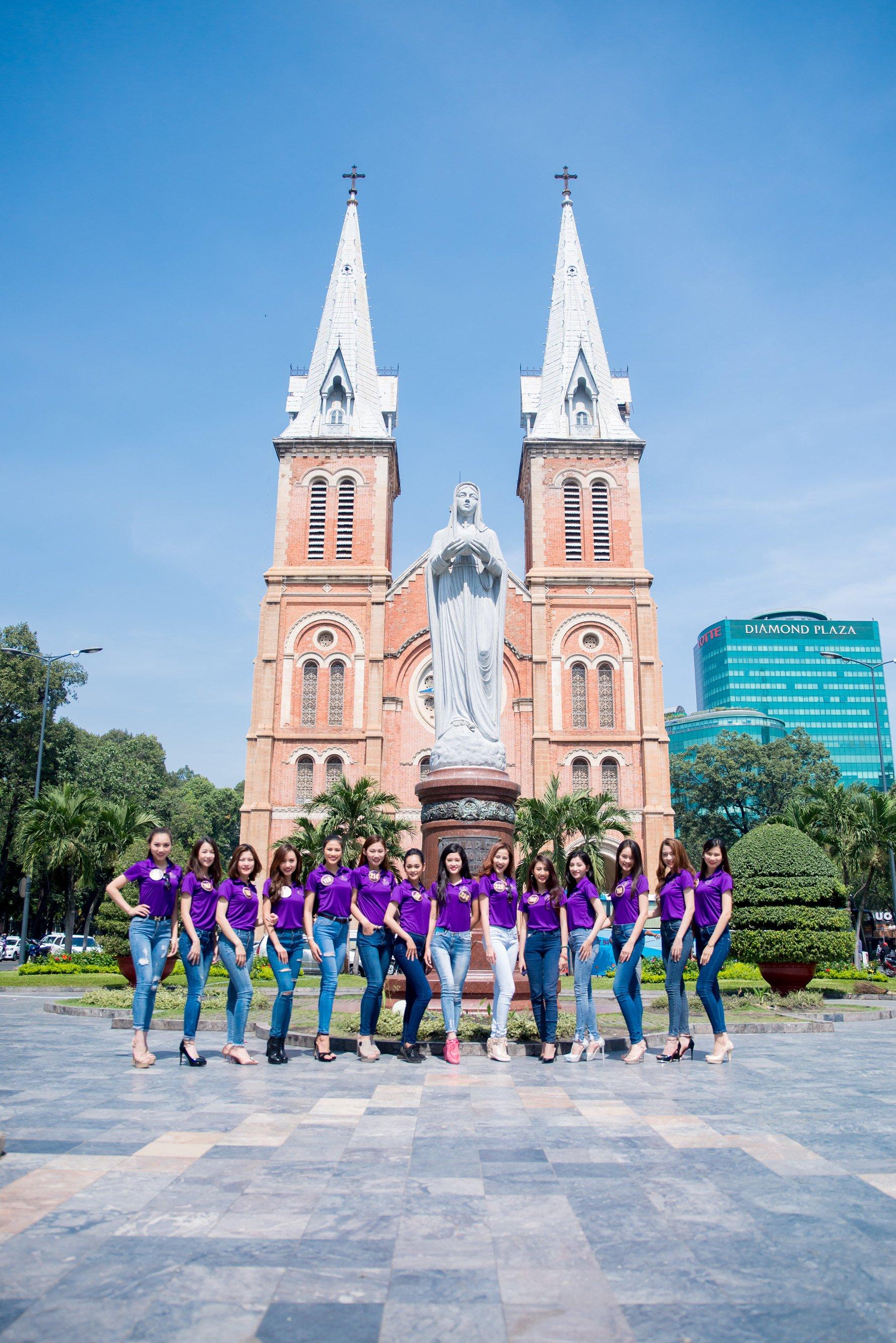 Vòng chung kết Hoa Khôi Du Lịch Việt Nam chính thức bắt đầu 1