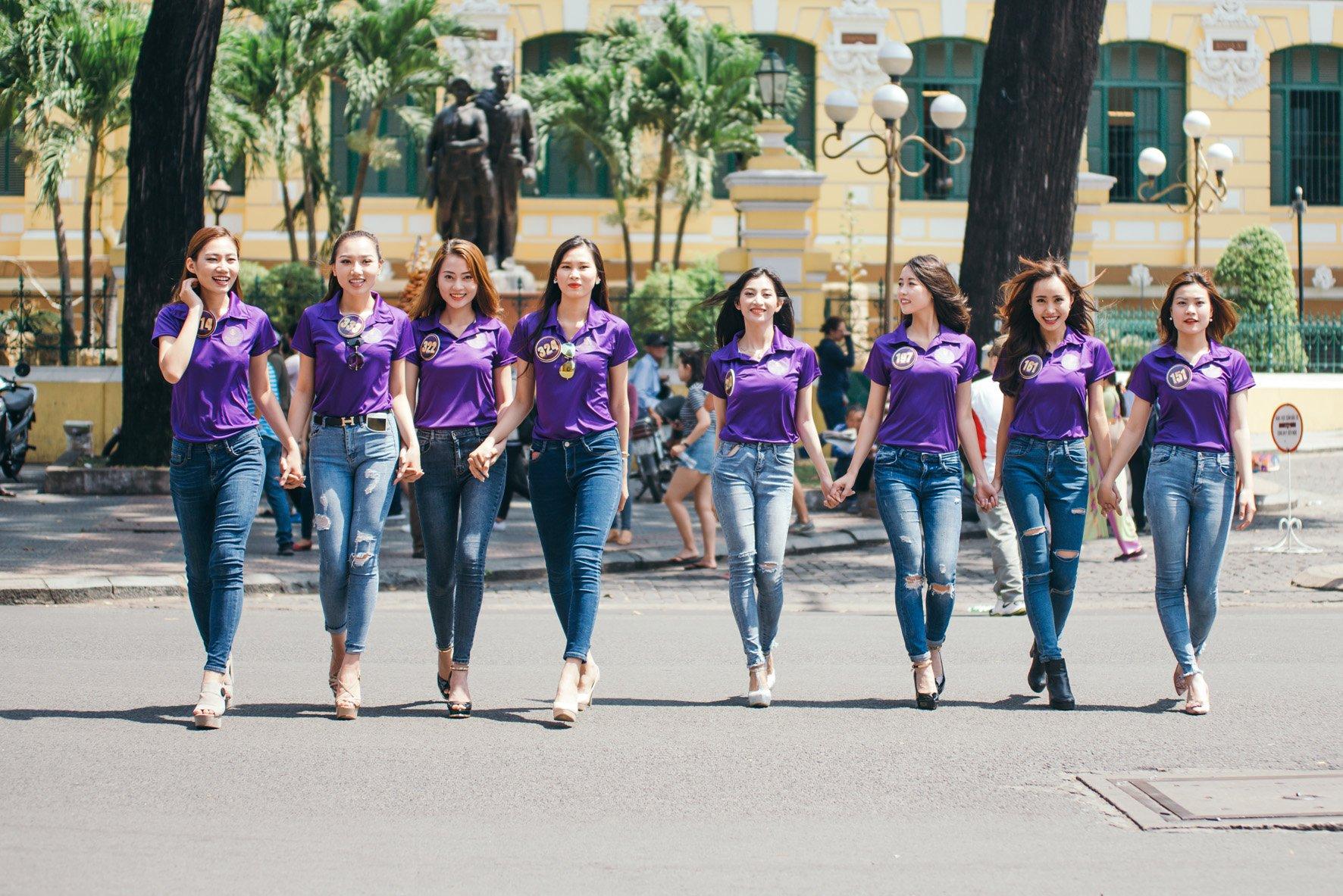 Vòng chung kết Hoa Khôi Du Lịch Việt Nam chính thức bắt đầu 7
