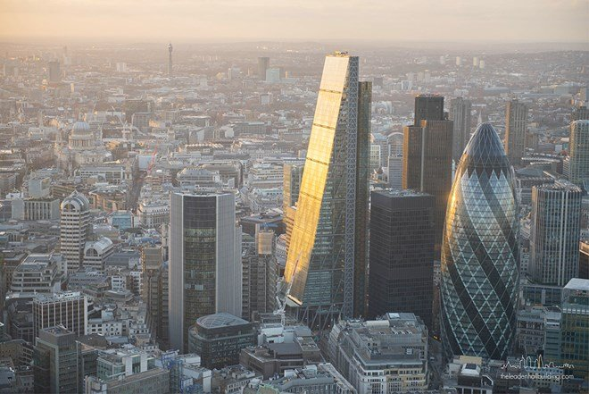 Hình ảnh Trung Quốc hoàn tất thương vụ mua tòa nhà cao nhất London số 1