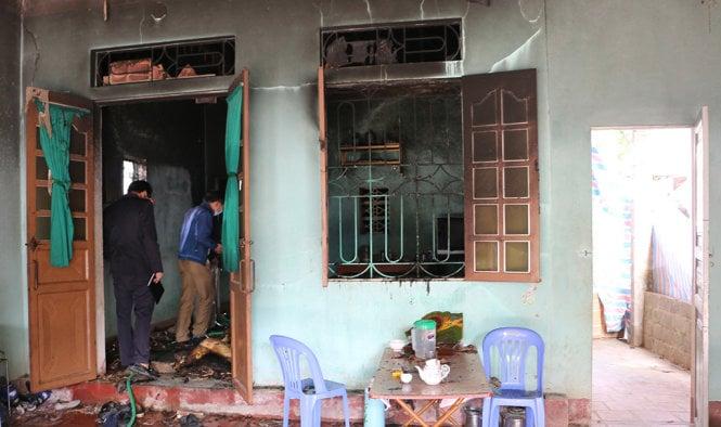 Nghi án đốt xác phi tang vụ hai cha con chết cháy tại nhà riêng 1