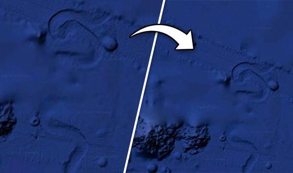 Bí ẩn vật thể to như quả núi đang bò dưới đáy Thái Bình Dương 3