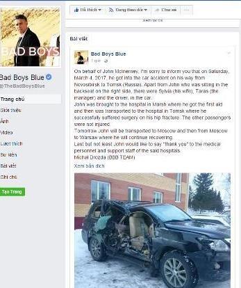Ban nhạc Bad Boys Blue bất ngờ gặp tai nạn tại Nga 3