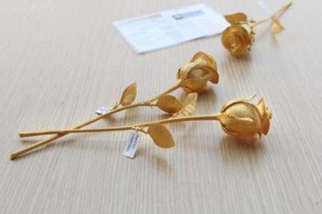 Đại gia Quảng Ninh chi gần 1 tỷ mua hồng đúc vàng tặng vợ ngày 8/3 1