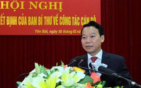 Phê chuẩn việc miễn nhiệm chức vụ Chủ tịch UBND tỉnh Yên Bái 1