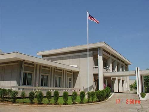 Đại sứ quán Malaysia tại Triều Tiên hạ quốc kỳ, đốt tài liệu 1