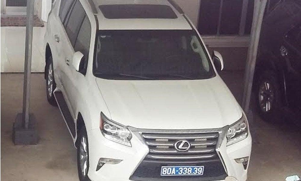 Làm rõ vụ doanh nghiệp tặng 2 xe tiền tỷ cho tỉnh Nghệ An 1