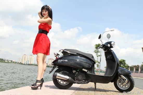 6 mẫu xe tay ga đẹp dành cho phụ nữ Việt Nam 3