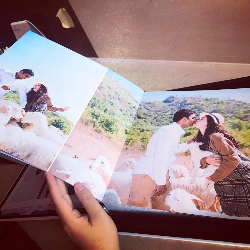 Ảnh cưới mộc mạc, lãng mạn của Nguyệt Ánh và chồng Ấn Độ 3