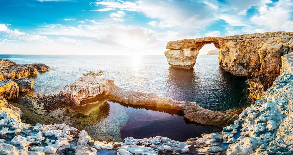 Vòm đá Azure Window trở thành ký ức khi bị sóng biển đánh sập 2