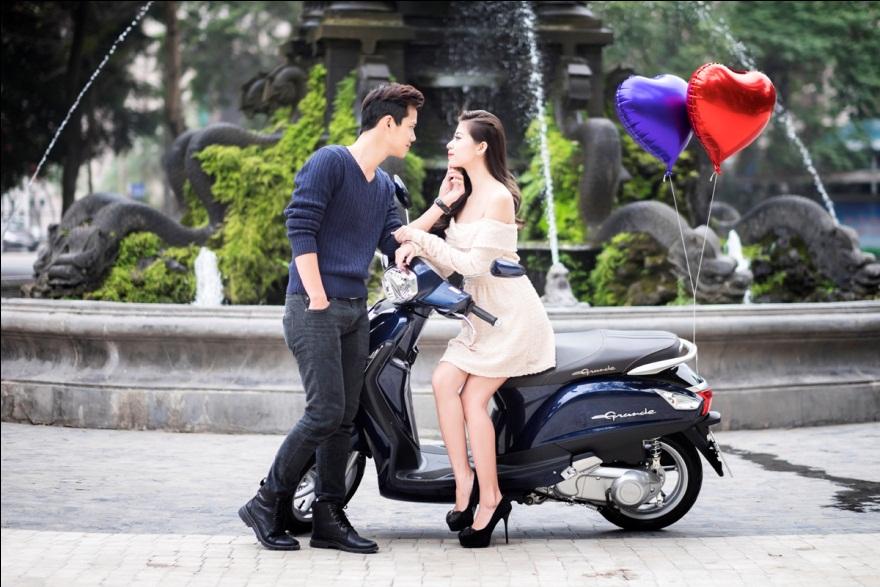 6 mẫu xe tay ga đẹp dành cho phụ nữ Việt Nam 2