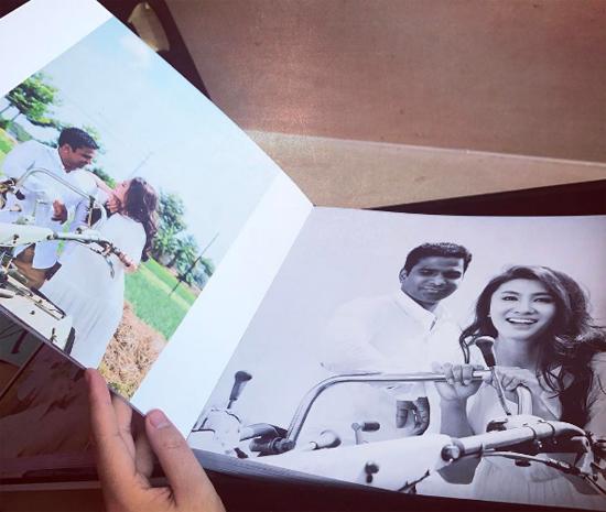 Ảnh cưới mộc mạc, lãng mạn của Nguyệt Ánh và chồng Ấn Độ 8