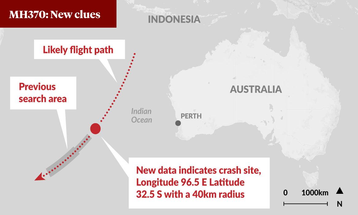 MH370: Nhóm nghiên cứu nói đã xác định được vị trí xác máy bay 1