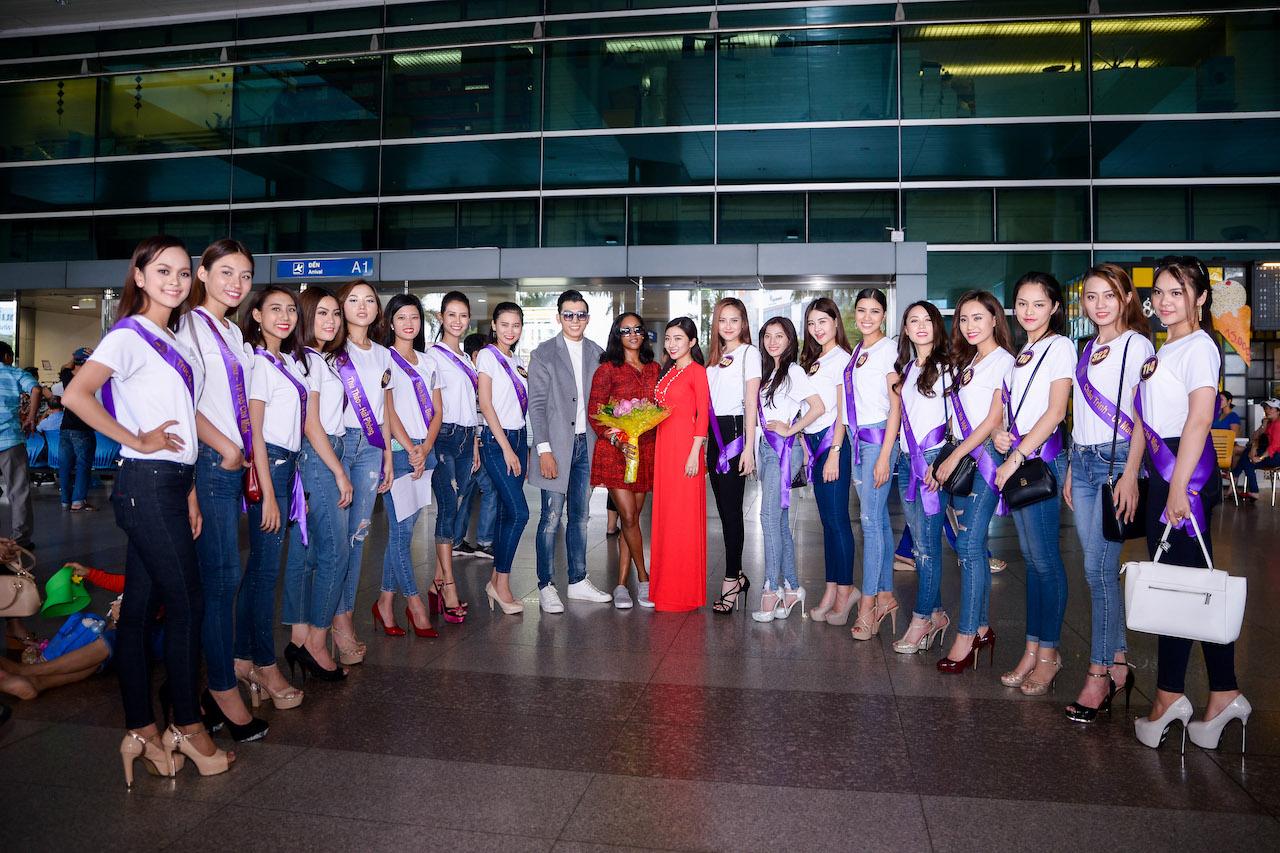 Nữ ca sỹ Shontelle bất ngờ xuất hiện trong đêm chung kết Hoa khôi Du lịch Việt Nam 2017 6