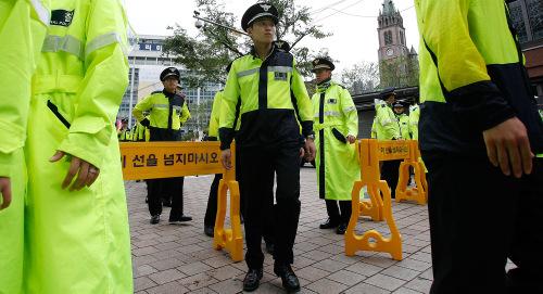 Phiên tòa luận tội Tổng thống Hàn Quốc: Hàng nghìn cảnh sát được điều động 1