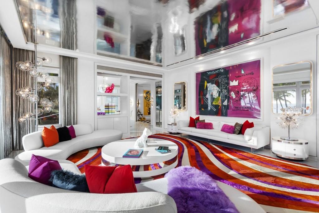 """Hình ảnh Biệt thự đầy màu sắc giá 27,5 triệu USD của """"ông hoàng"""" thời trang Tommy số 2"""