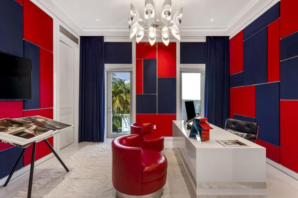 """Hình ảnh Biệt thự đầy màu sắc giá 27,5 triệu USD của """"ông hoàng"""" thời trang Tommy số 4"""