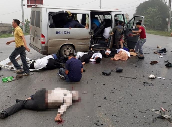 Phó Thủ tướng yêu cầu khẩn trương điều tra vụ xe dâu đâm xe tải 1