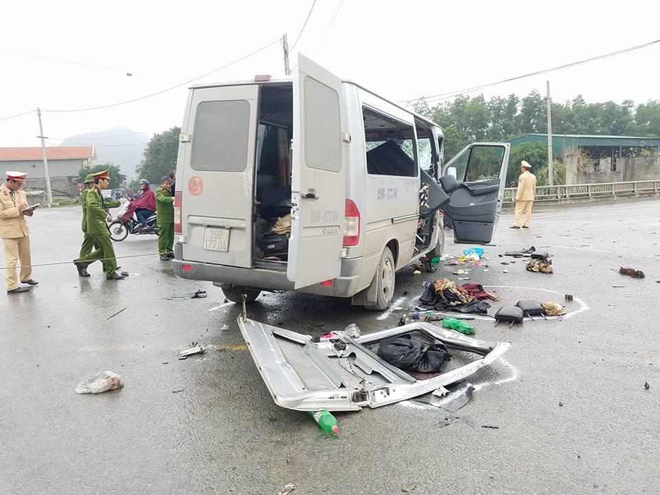 Tin mới về các nạn nhân trong vụ xe dâu đâm xe tải ở Hà Nam 2